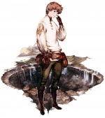 Artworks Bravely Default: Flying Fairy Tiz Oria
