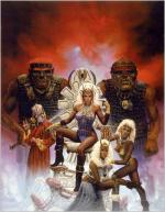 Artworks Advanced Dungeons & Dragons: Pools of Darkness Illustration du jeu par Keith Parkinson
