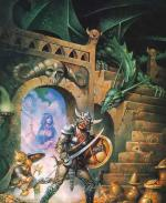 Artworks Dungeons & Dragons: Warriors of the Eternal Sun Illustration du jeu par Clyde Caldwell