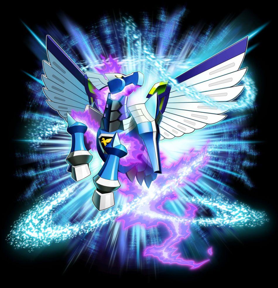 Mega Man Star Force: Pegasus Nintendo DS Artworks, images ...