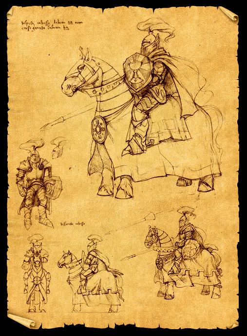 King's Bounty: Легенда о Рыцаре - Концепт арт и волпаперы.