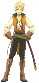 Artworks Tales of the Abyss Guy Cecil