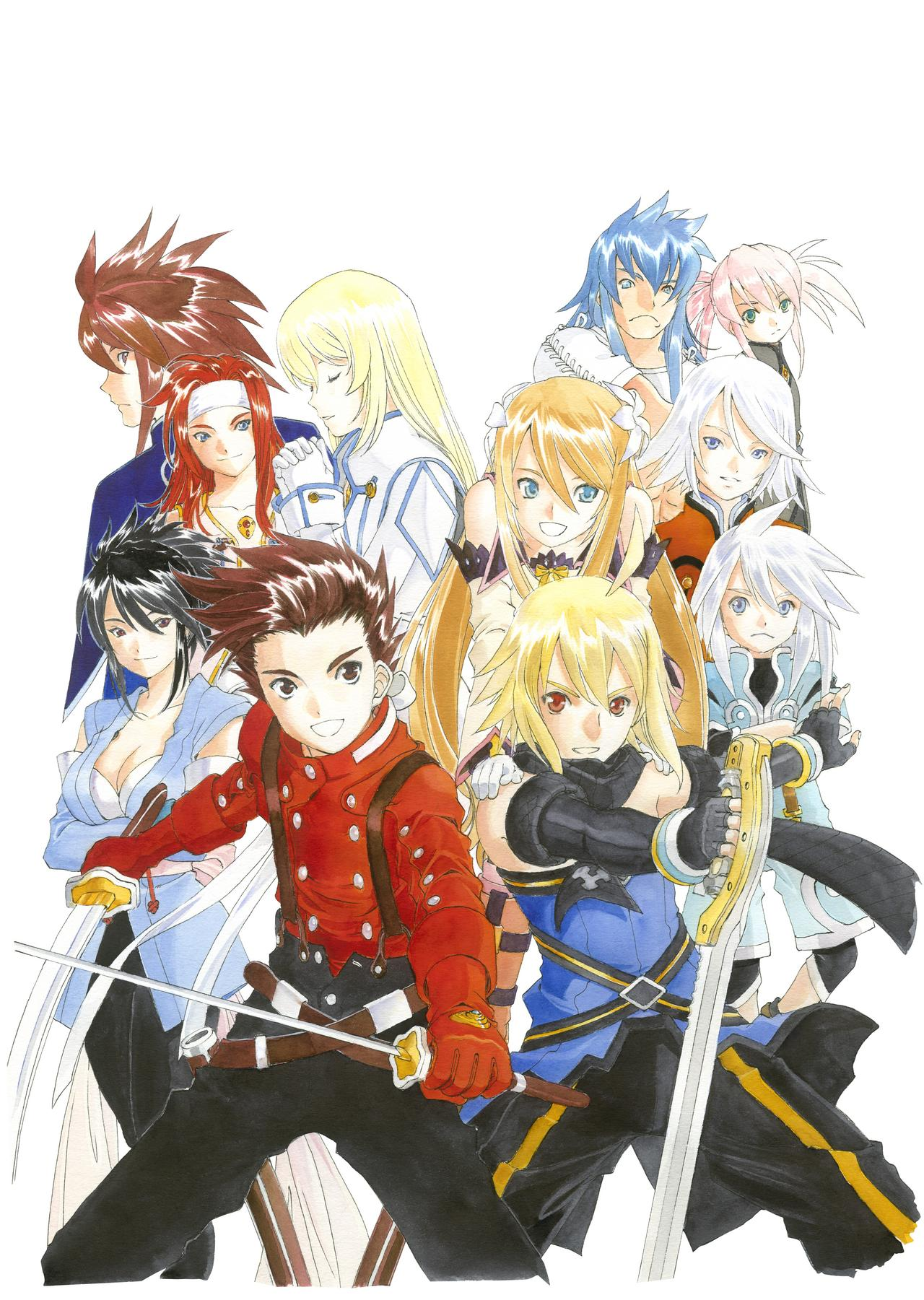 Artworks Tales of Symphonia Chronicles
