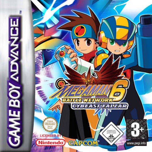 Mega Man Battle Network 6 : Cybeast Falzar GBA