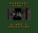 Phantasy Star II Text Adventure: Kinds's Adventure (Phantasy Star II Text Adventure: Kinds no Bouken *Phantasy Star 2 Text Adventure*)
