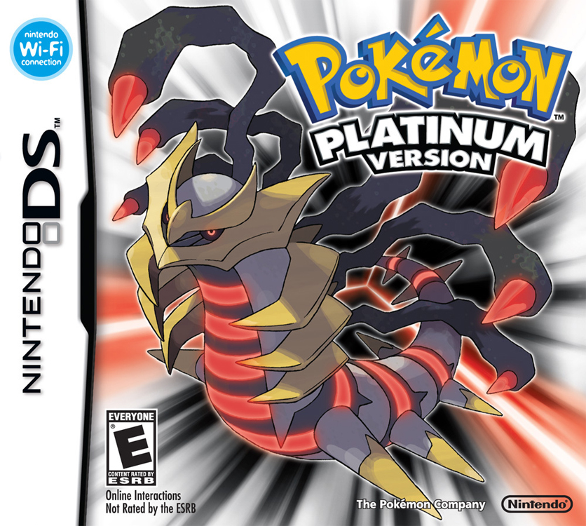 Pokémon Platine (Pokémon Version Platine, Pokémon Platinum Version