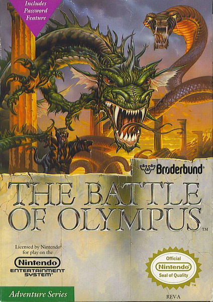 Image result for battle of olympus nes