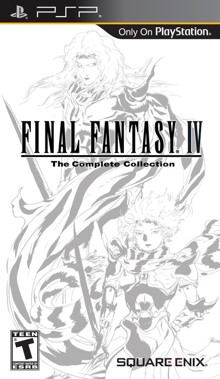 Final Fantasy IV Complete Collection [PSP | FRENCH] [FS] (Exclu)