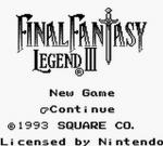 Screenshots Final Fantasy Legend III