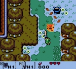 Screenshots The Legend of Zelda: Link's Awakening DX Tiens, prends ça, sale monstre !! (et un rubis, hop)