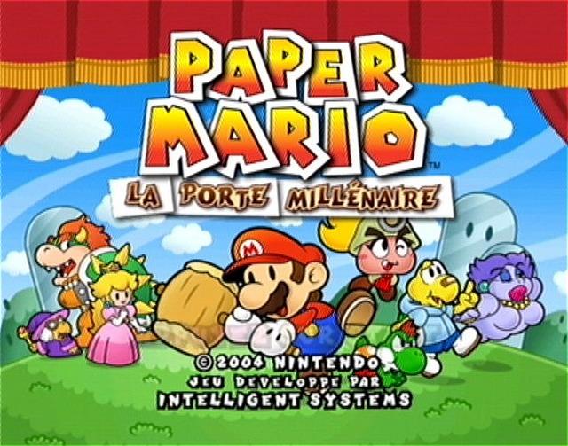 Paper mario la porte mill naire fiche rpg reviews - Telecharger paper mario la porte millenaire ...