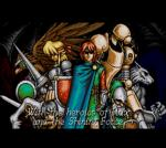Screenshots Shining Force CD On revoit des têtes connues dans l'intro