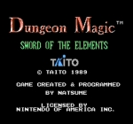 Screenshots Dungeon Magic: Sword of the Elements
