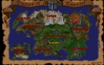 Screenshots The Elder Scrolls: Arena Worldmap