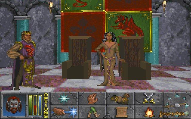 The Elder Scrolls II: Daggerfall - La cour de Daggerfall