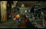 Screenshots Final Fantasy VII Cloud entre en scène