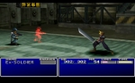 Screenshots Final Fantasy VII Premier combat