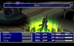 Screenshots Final Fantasy VII Les magies, sublimes pour l'époque