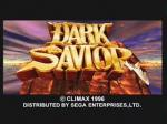 Screenshots Dark Savior L'écran-titre