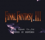 Screenshots Final Fantasy VI L'écran-titre