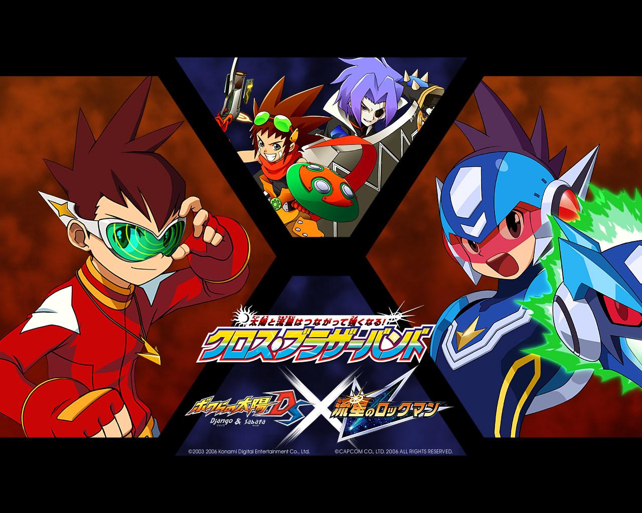 Wallpapers Mega Man Star Force: Pegasus