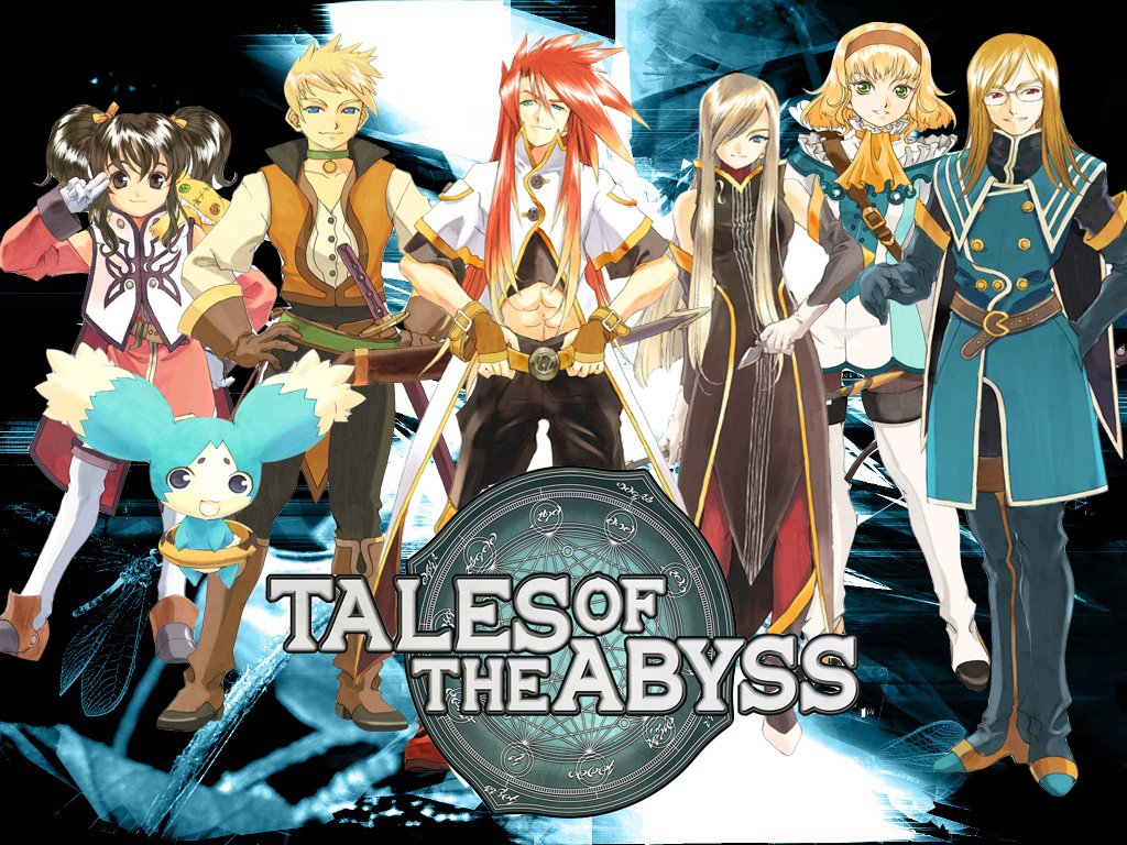 Tales of the Abyss PlayStation 2 Wallpapers, fonds décran, images  Legendra RPG