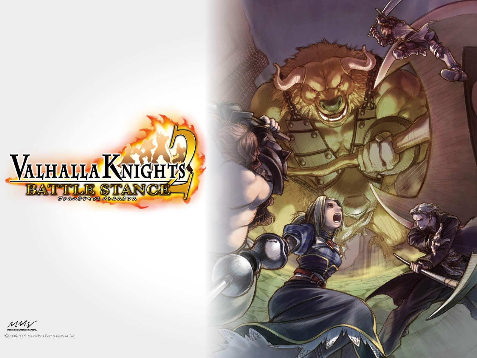Knights in Battle Wallpaper Wallpapers Valhalla Knights 2
