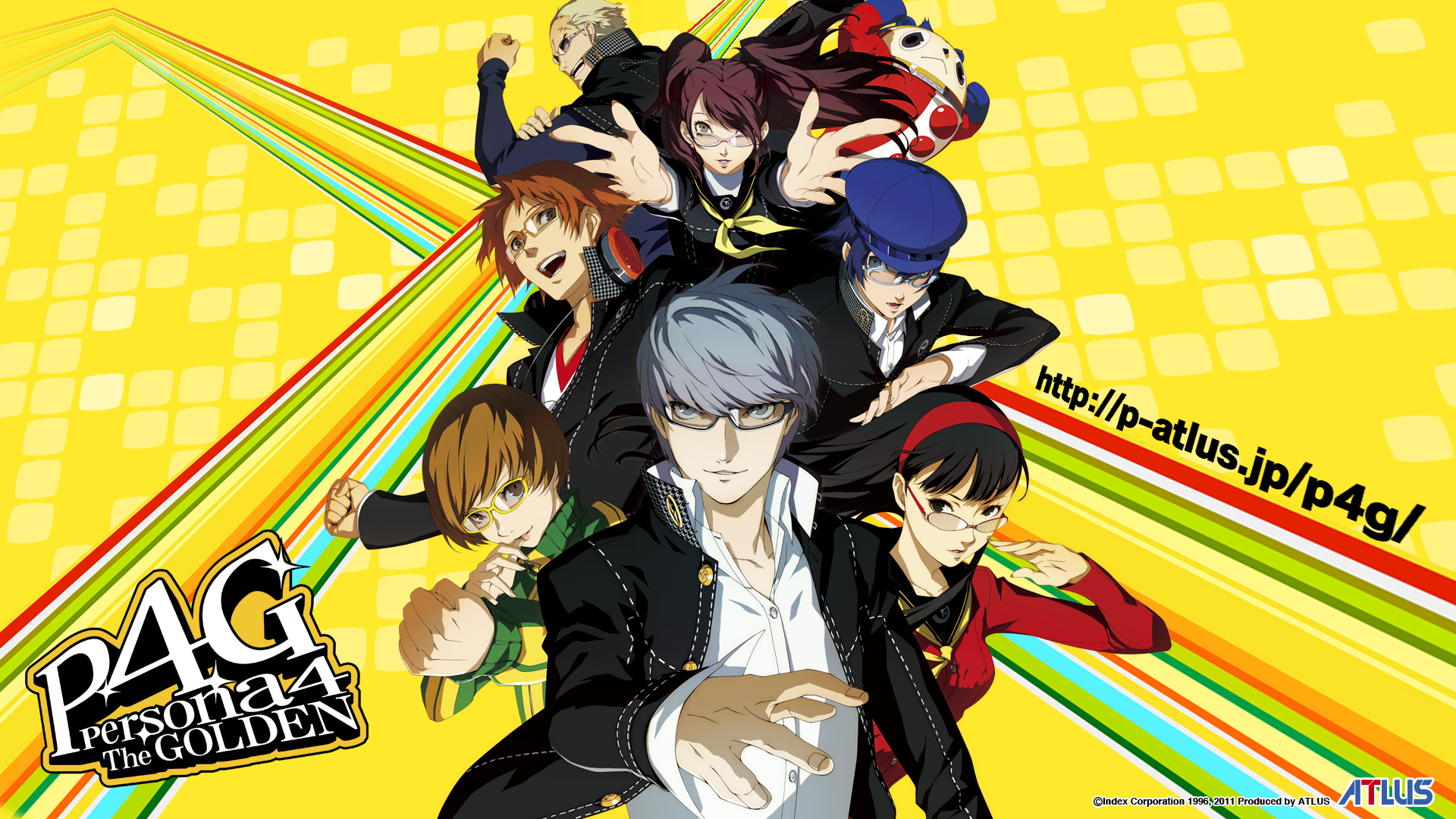 Persona 4 golden fiche rpg reviews previews wallpapers videos