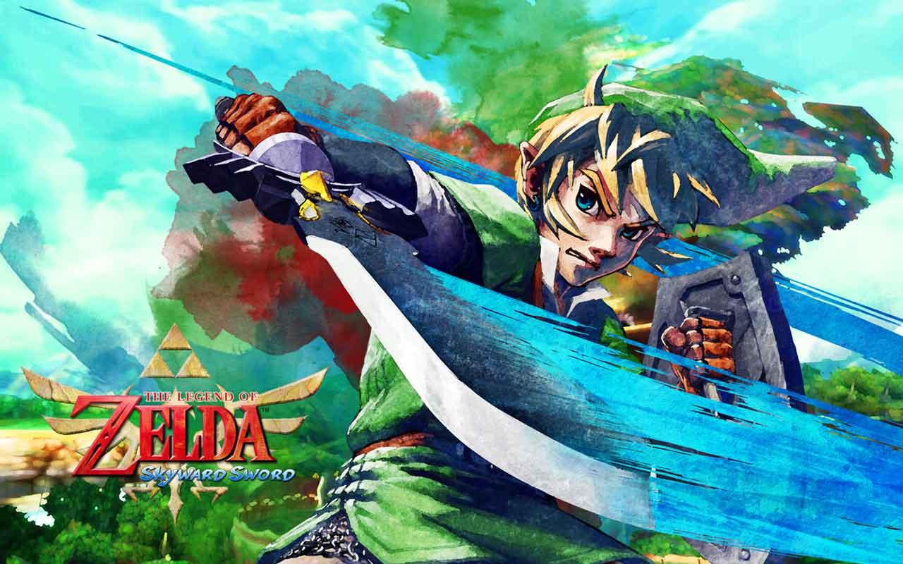 the legend of zelda skyward sword wii wallpapers fonds d