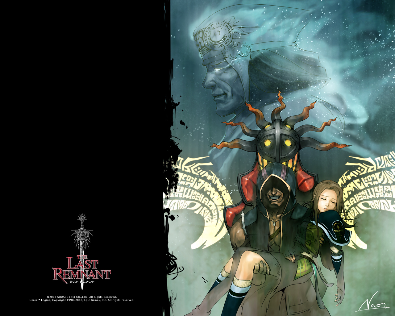 The last remnant fiche rpg reviews previews wallpapers for Wallpaper remnants