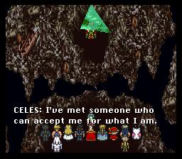 Le genre de phrase parfaite pour énerver Kefka. Bien joué Celes !