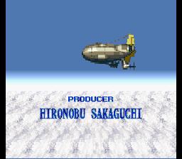 Sakaguchi, littéralement au-dessus des nuages sur ce jeu !