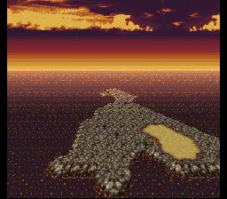 Voici l'île solitaire, cadre de la reprise du jeu à l'ambiance