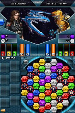 [Nintendo DS] Puzzle Quest - Galactrix Combat